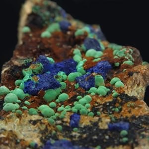 Malachite, Azurite (Slovakia - Spania Dolina)