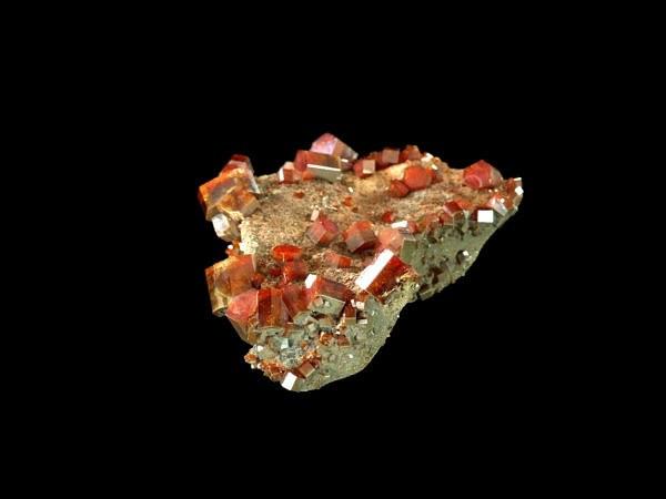 Vanadinite (Morocco - Mibladen)